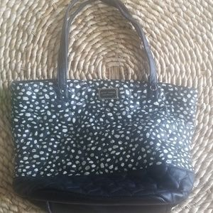 Betsey Johnson tote, good condition, cute, roomy!